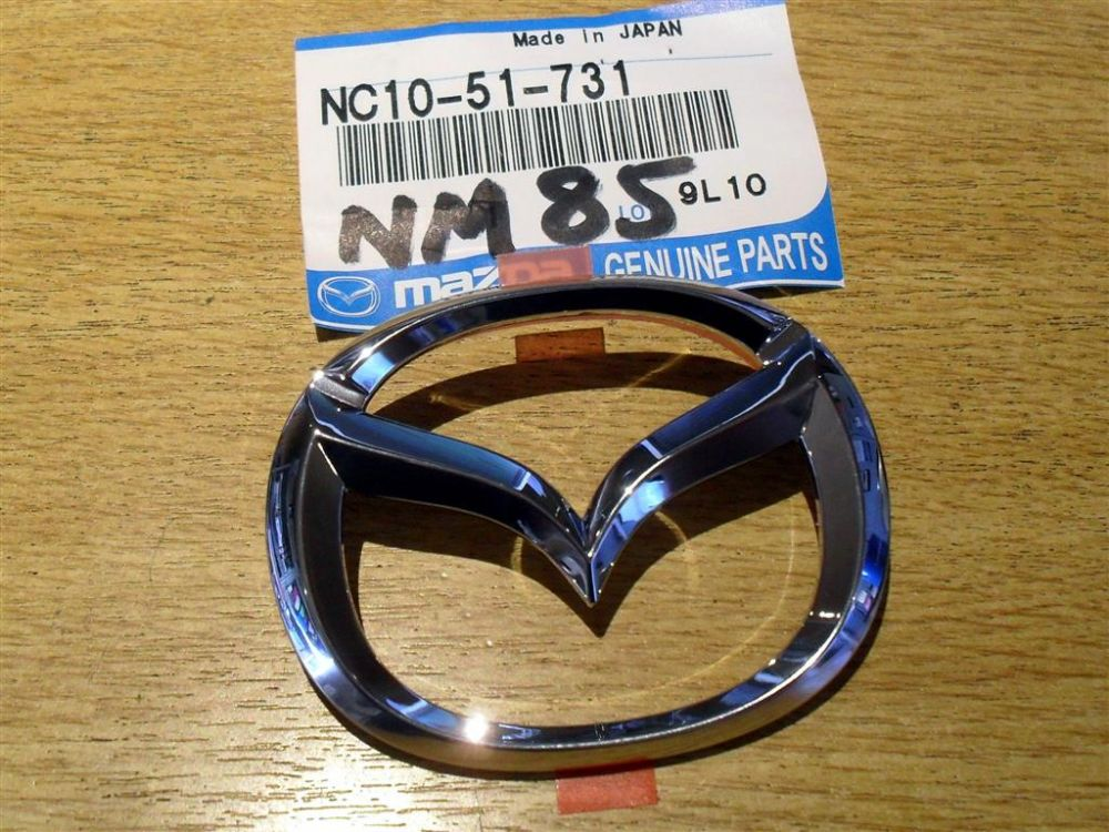 Badge, Mazda MX-5 mk2, wings type, front, NC1051731